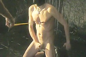 Amazing homemade gay clip with bdsm scenes...