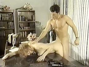 Horny lady boss can resist a hunky secretary...
