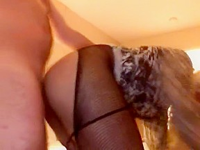 Incredible homemade shemale movie with Guy Fucks, Stockings scenes