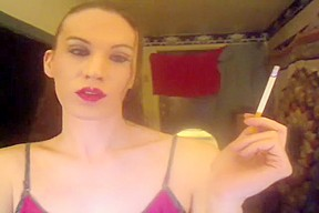 Incredible amateur shemale video with Solo scenes