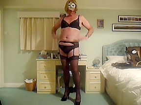 Crazy homemade shemale scene with Stockings, Mature scenes