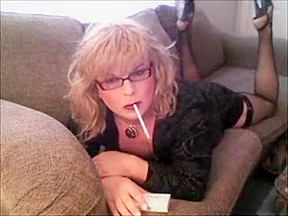 Incredible homemade shemale video with Solo, Stockings scenes