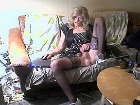 Crazy amateur shemale clip with Solo, Mature scenes