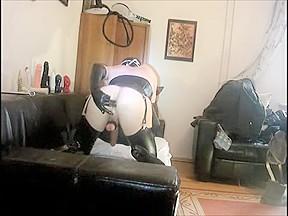 Fabulous amateur shemale scene with Webcam, Solo scenes
