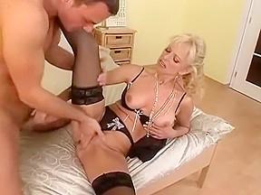 Exotic amateur blonde scene...