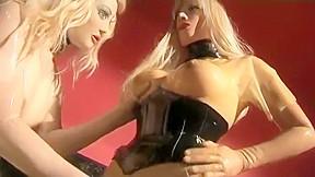 Amazing homemade bdsm latex sex movie...