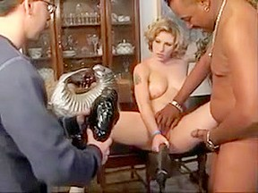Fabulous homemade threesomes scene...