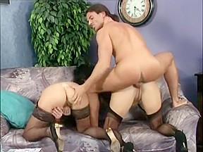 Threesomes stockings...