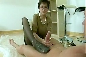 Foot job clip...