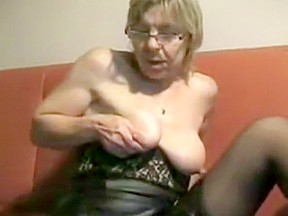 Hottest amateur Solo Girl, Grannies porn scene