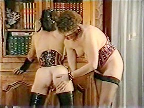 Exotic spanking...
