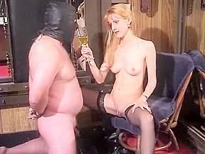 Incredible homemade medium tits femdom adult video...