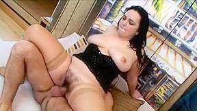 Hottest amateur ass stockings...