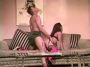 Interracial stockings...
