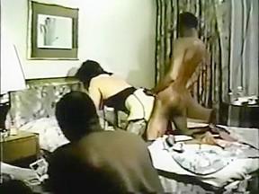 Stockings scene...