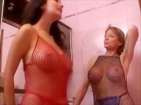 Incredible orgasm fake tits adult clip...
