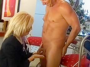 Horny blowjob scene...