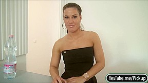 Awesome boobs athina love money...