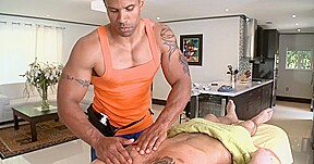 Wet blowjobs for masseur