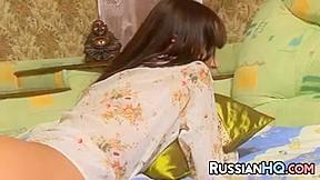 Russian Teen Having Sex