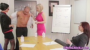 Office dominas give sudsy hj