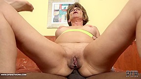 Granny fuck with anal...