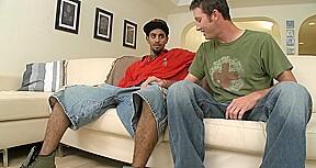 Wild interracial gay sex
