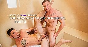 Markie More & Johnny Riley in The New Next Door Neighbor (Part 2) - NextDoorWorld