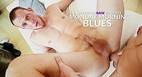 Quentin gainz mitch hanson in monday morning blues...