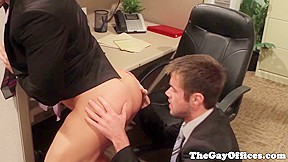 Hunk drilled until they cum...