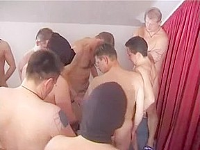 German mature with 12 men...