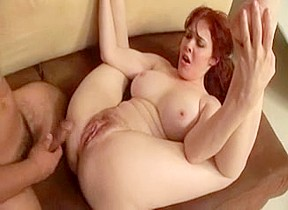 Mature redhead with nice big tits