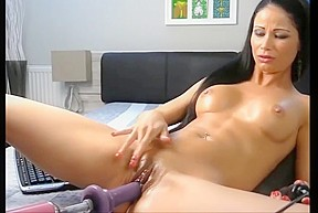 Oiled latina milf orgasm...