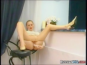 Russian Bitch Gets Fucked