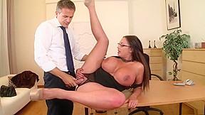 Incredible pornstar in fabulous tits sex scene...
