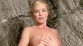 Silvia Saint Fingering Pussy in Shower