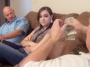 Threesomes college sex movie...