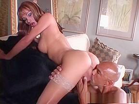Fabulous pornstar in redhead scene...
