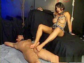 Crazy pornstar in shemale fetish sex clip...