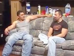 Straight latino man bottom...