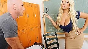 Bridgette B & Johnny Sins In My First Sex Teacher