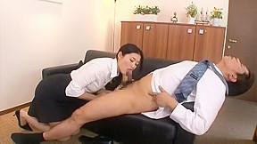 Girl mio kitagawa secretary swallow...