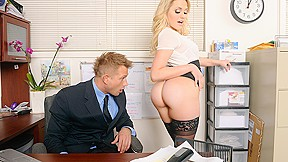 In naughty office...
