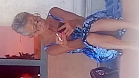 Up milf skirt see sexy panties operz