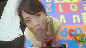 Fabulous Japanese girl Mayuka Akimoto in Horny Blowjob JAV movie