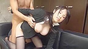 Fabulous Japanese girl Miho Tsujii in Crazy Fingering, Big Tits JAV movie
