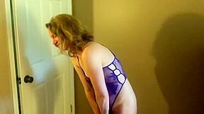 Slut wife becky moans for camera