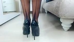 Webcams high heels...