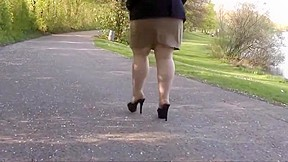 Amazing homemade stockings movie...
