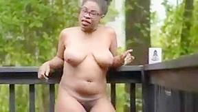 Ebony nudists porn video...